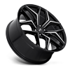 6 LUG VICE - M232 SUV GLOSS BLACK & MILLED