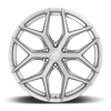 6 LUG VICE - M233 SUV BRUSHED SILVER