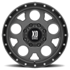 8 LUG XD126 ENDURO PRO MATTE GRAY W/ BLACK RING