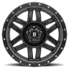 5 LUG XD128 MACHETE SATIN BLACK