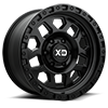 6 LUG XD132 RG2 SATIN BLACK