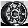 6 LUG XD840 SPY II GLOSS BLACK WITH MACHINE FACE