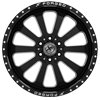 6 LUG XFX-302 BLACK MILLED