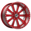 6 LUG XFX-302 RED MILLED