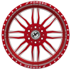 6 LUG XFX-303 RED MILLED