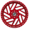 6 LUG XFX-304 RED MILLED
