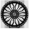 6 LUG XFX-305 BLACK MILLED