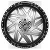 6 LUG XFX-306 GLOSS BLACK BRUSHED