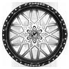 6 LUG XFX-307 GLOSS BLACK BRUSHED