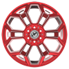 6 LUG XFX-308 RED MILLED