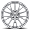 5 LUG AMERICAN RACING AR904 SILVER W/ MACHINED FACE