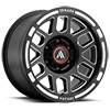 6 LUG AB812 CLAYMORE SATIN BLACK MILLED