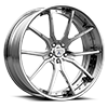 5 LUG CX875 BRUSHED CHROME