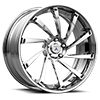 5 LUG CX876 BRUSHED CHROME