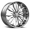 5 LUG CX877 BRUSHED CHROME