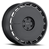 6 LUG KM689 SKILLET SATIN BLACK MILLED