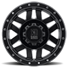 8 LUG XD128 MACHETE SATIN BLACK