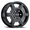 6 LUG 156B SURGE GLOSS BLACK MILLED
