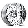 8 LUG SC-28 CHROME