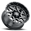 8 LUG SC-28 BLACK MILLED