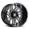 8 LUG SC-29 BLACK MILLED