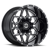 8 LUG SC-16 BLACK MILLED