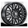 5 LUG TR78 GLOSS BLACK