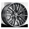 5 LUG TR91 BRUSHED MATTE BLACK W/ DARK TINT