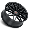 5 LUG R18 SATIN BLACK