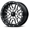4 LUG M37 BRUTE BEADLOCK GLOSS BLACK MACHINED