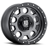 6 LUG XD126 ENDURO PRO MATTE GRAY W/ BLACK RING