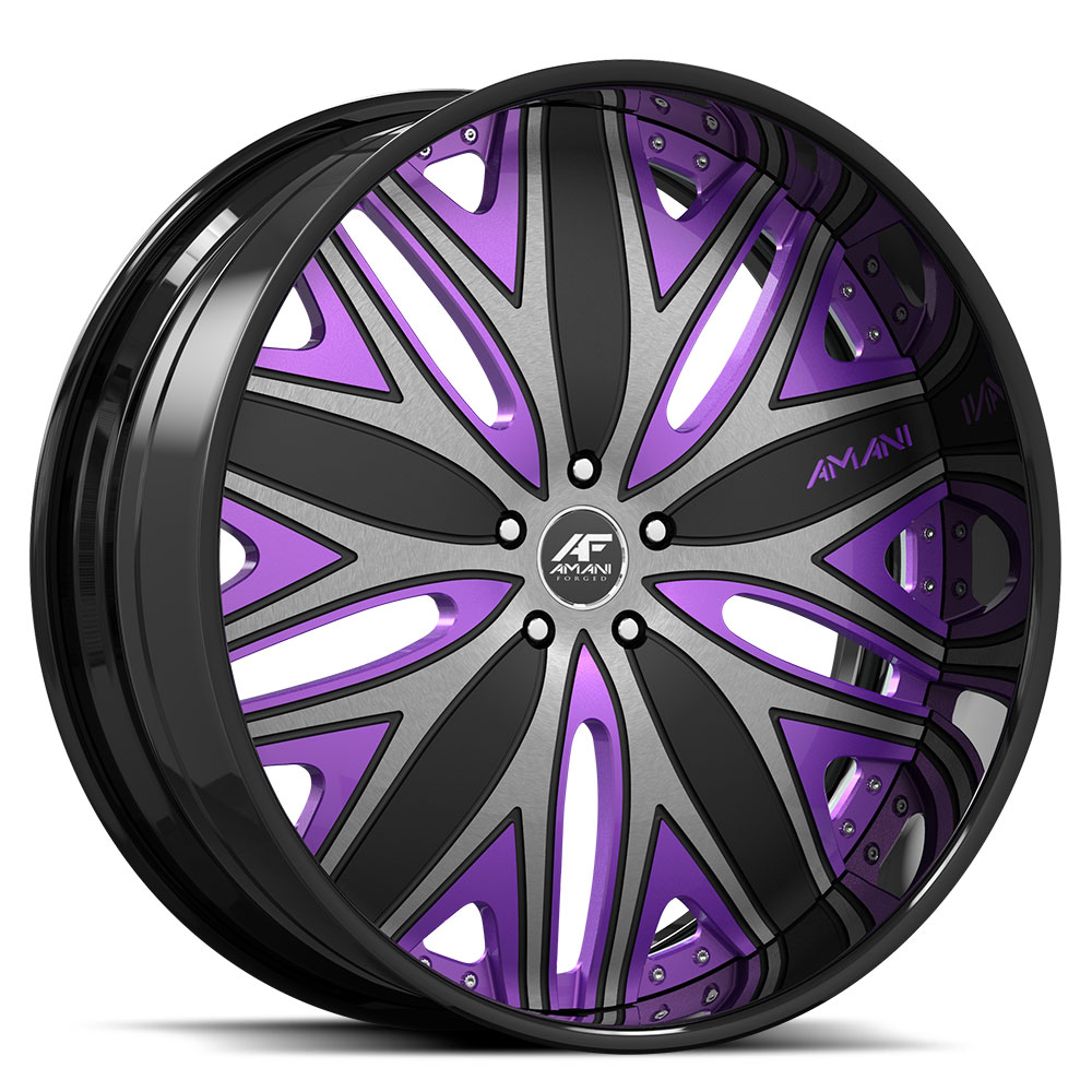 Amani Wheels Mondo Wheels | Down South Custom Wheels