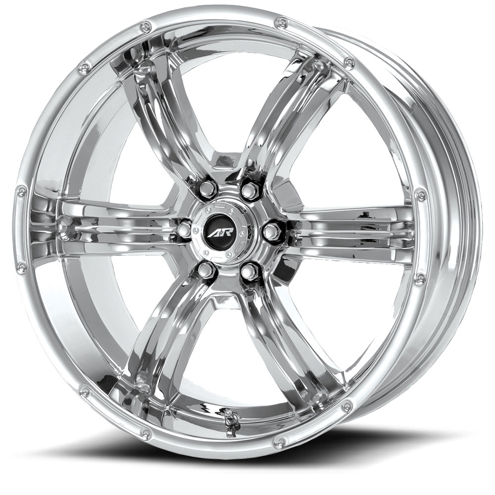 racing american wheels chrome trench ar620 lug custom rims truck tires wheel helo