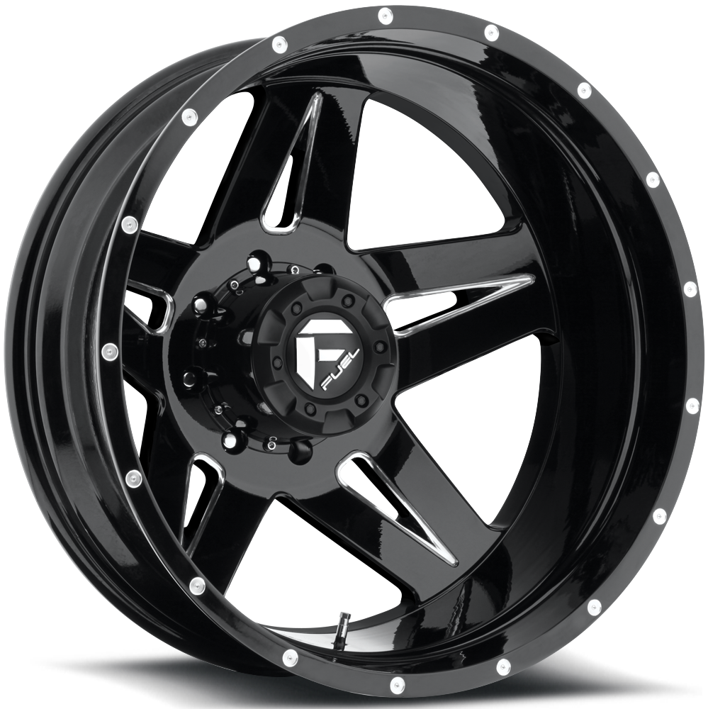 Fuel Dually Wheels Full Blown Dually Rear - D254 Wheels ...