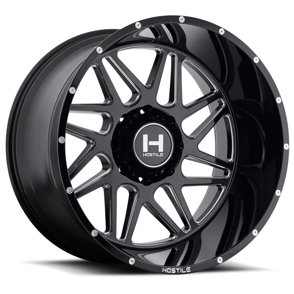 Hostile H108 SPROCKET (6L) Wheels | Down South Custom Wheels