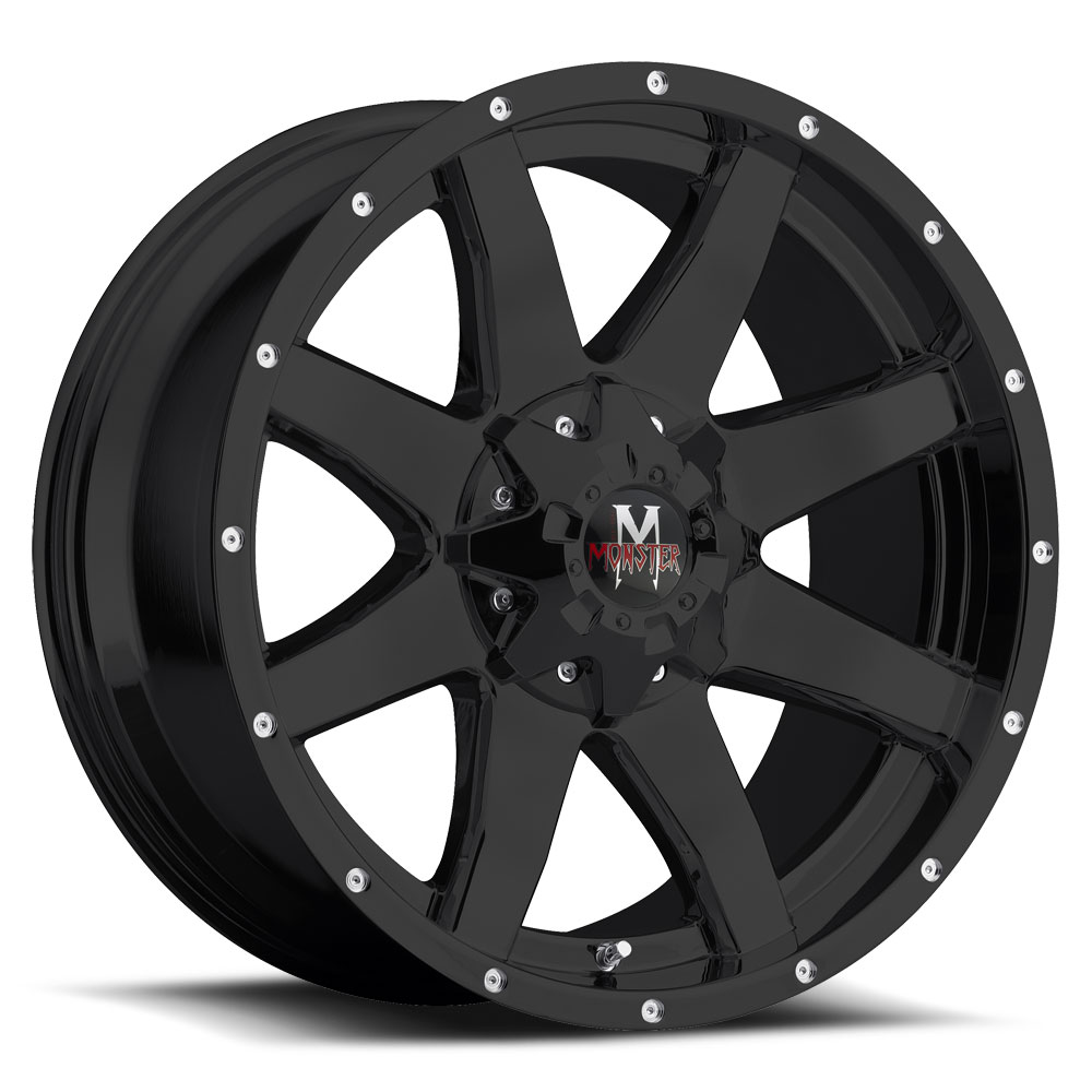 08: Off Road Monster M08 Wheels