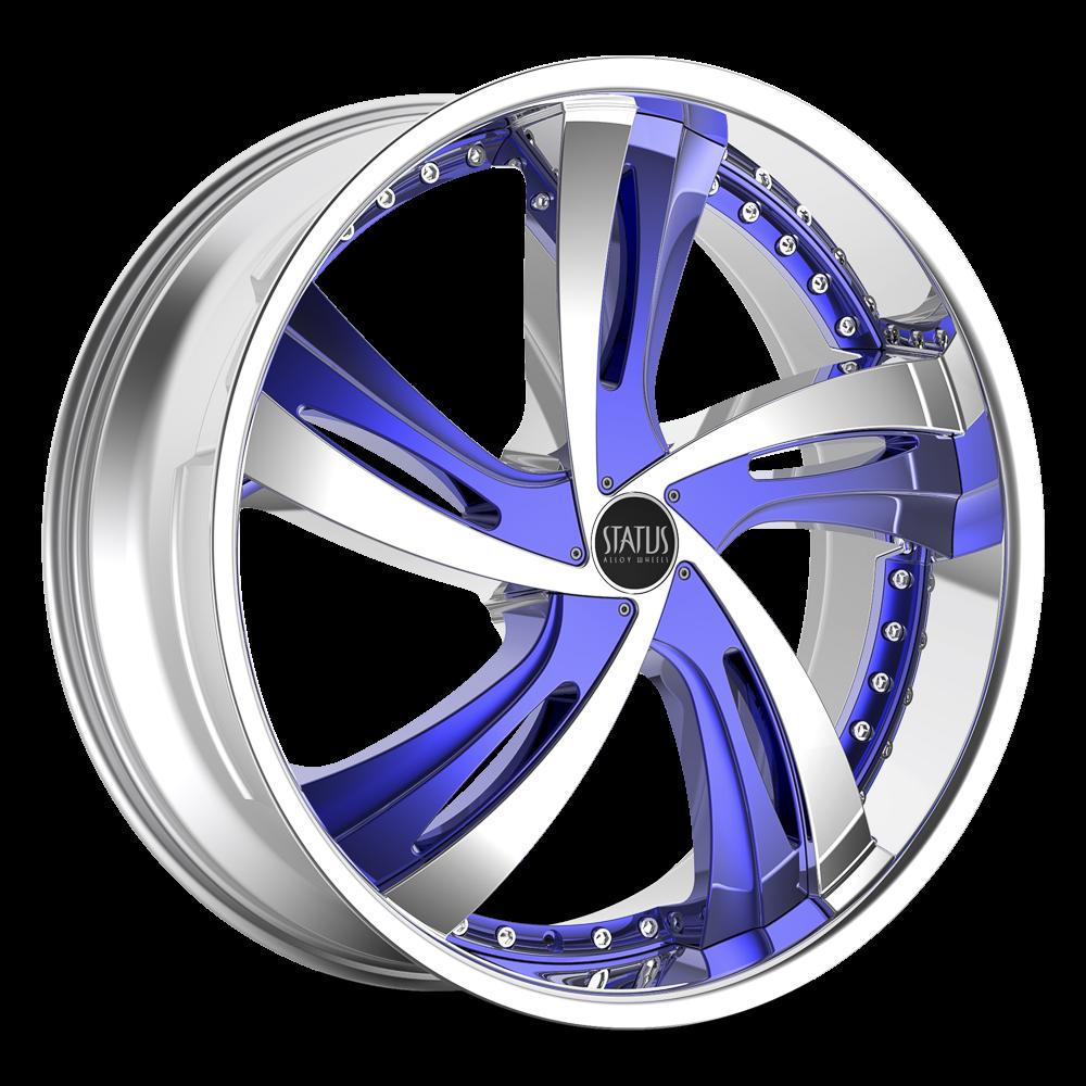 Status Wheels S835 Fantasy Wheels | Down South Custom Wheels