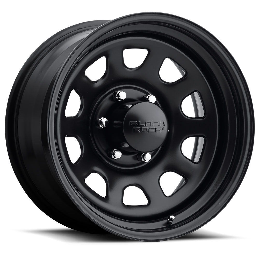 Black Rock Series 942 Type D Steel Wheels | Down South ...