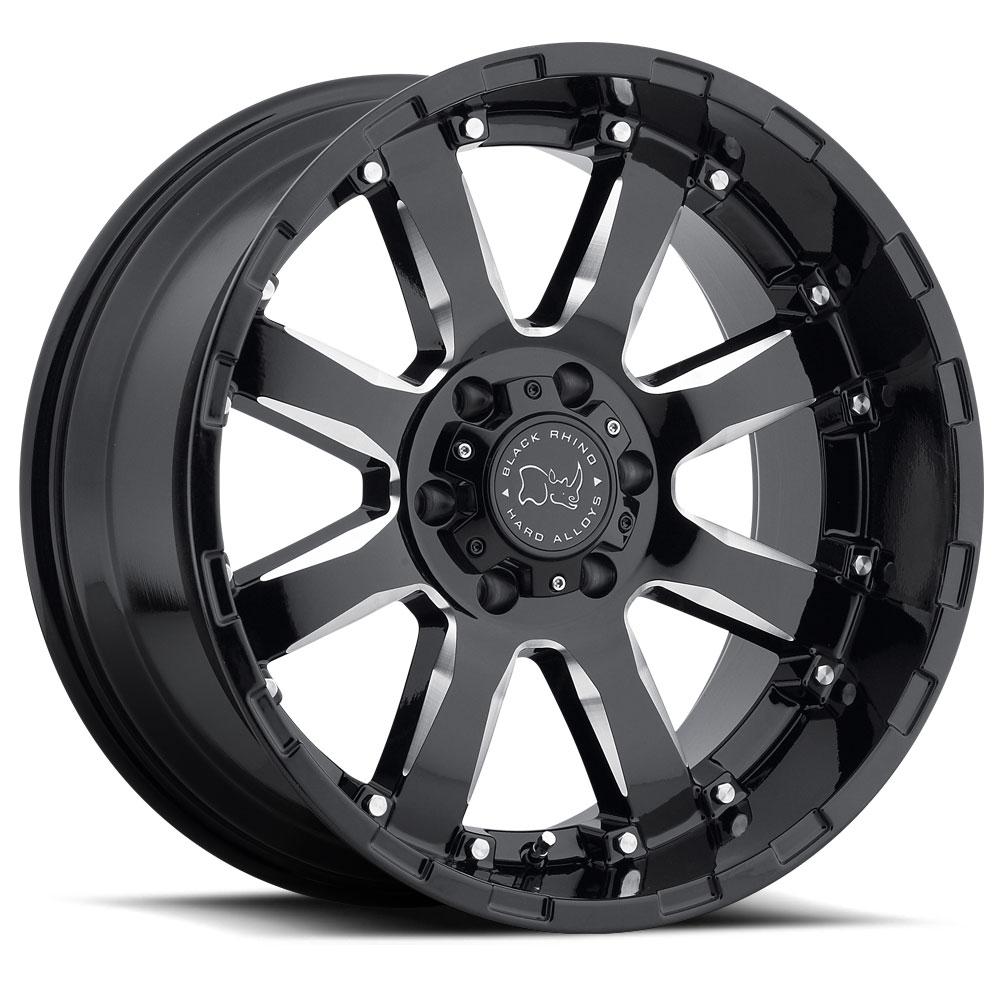 Truck Wheels Rims : Black rhino sierra wheels down south custom