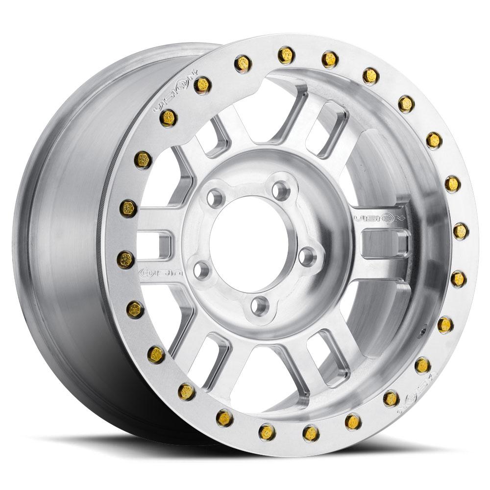 Vision Off Road 398 Manx Forged Beadlock Wheels | Down South Custom Wheels